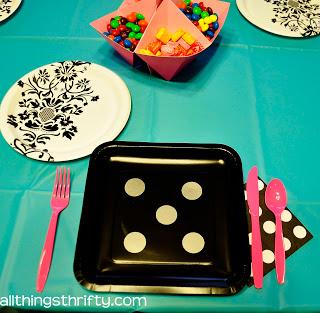 bunco plates