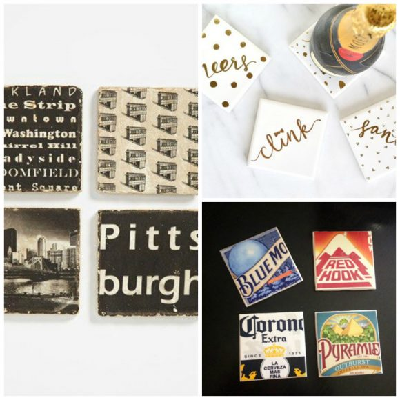 coasters Collage