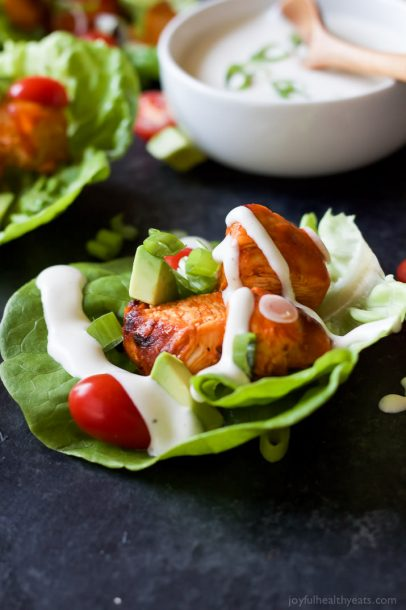 Grilled-Buffalo-Chicken-Lettuce-Wraps-6
