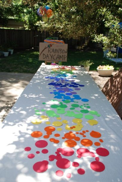 rainbow table cloth