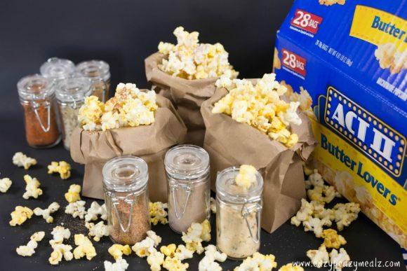 popcorn flavor shakers