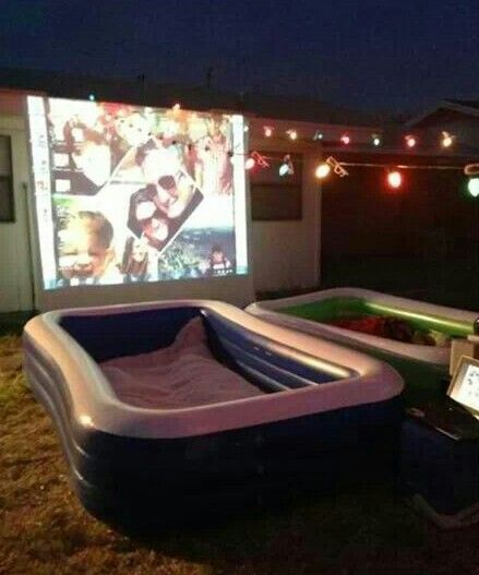 What You Need For An Outdoor Movie Night