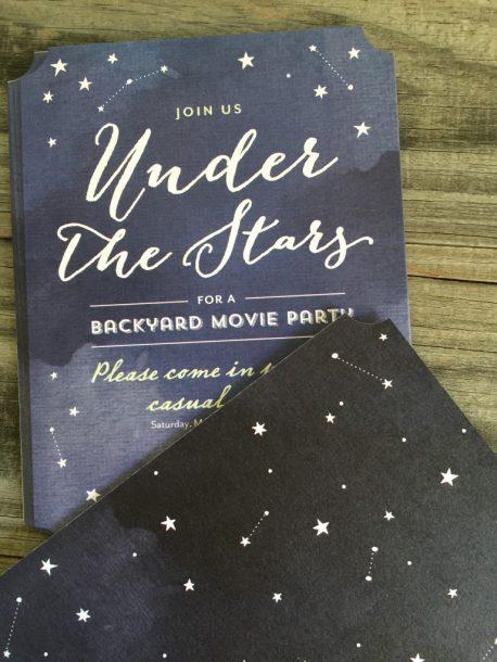 upnder the starts invite