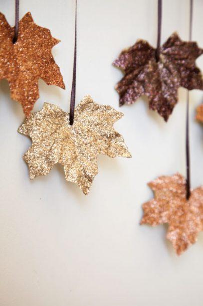gltter-leaf-garland