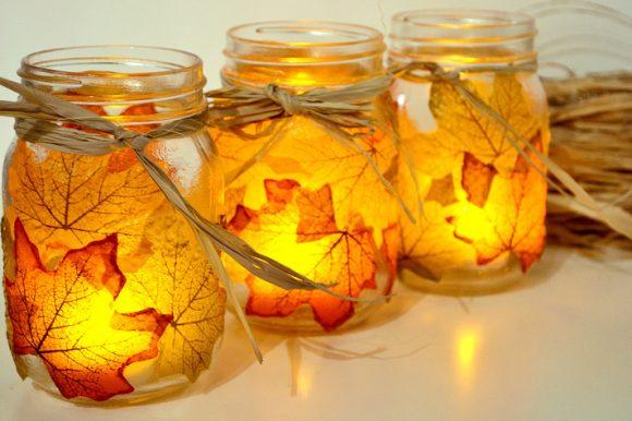 leaf-mason-jar